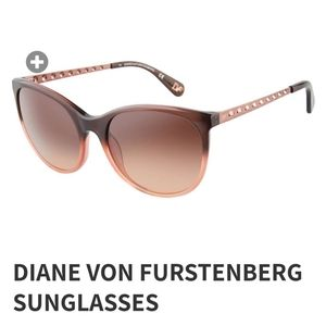 NWT Diane Von Furstenberg Sunglasses